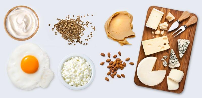 مواد غذایی سرشار از پروتئین منابع پروتئین