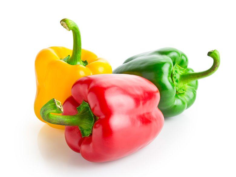 فلفل دلمه مصرف سبزیجات