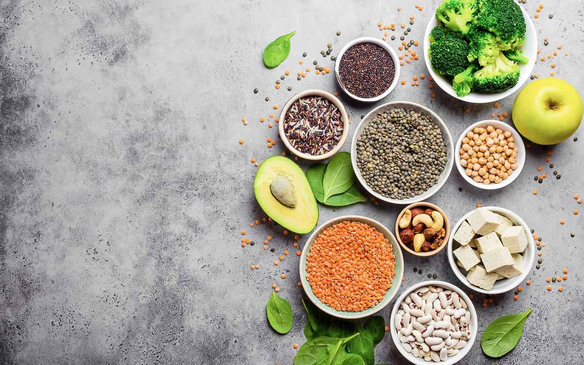 معرفی منابع پروتئین برای گیاهخواران و وگانها
