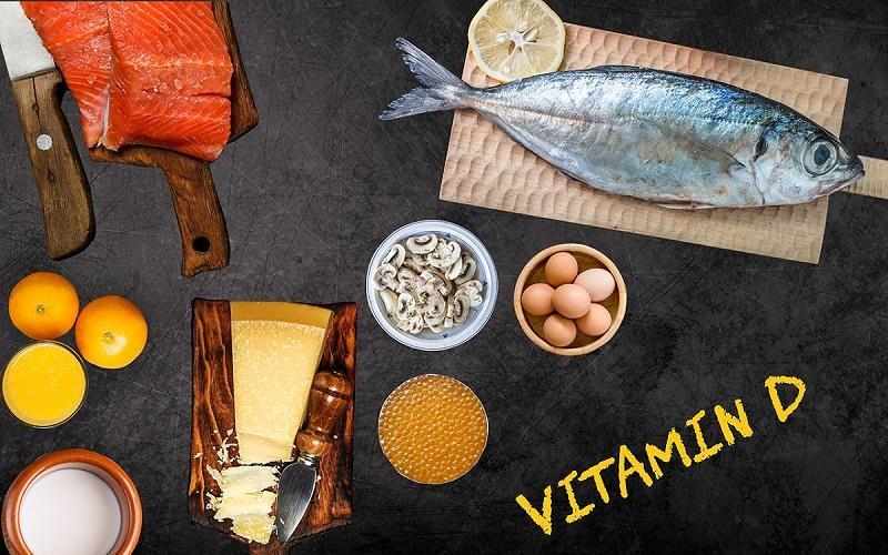 منابع غذایی حاوی ویتامین دی