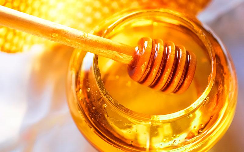 فرنی با عسل